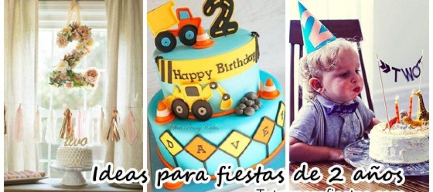 Ideas para fiestas de cumpleaños de 2 años
