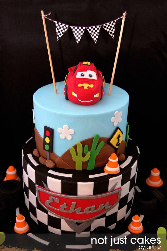 Pasteles Para Fiesta Infantil De Cars 28 Decoracion De