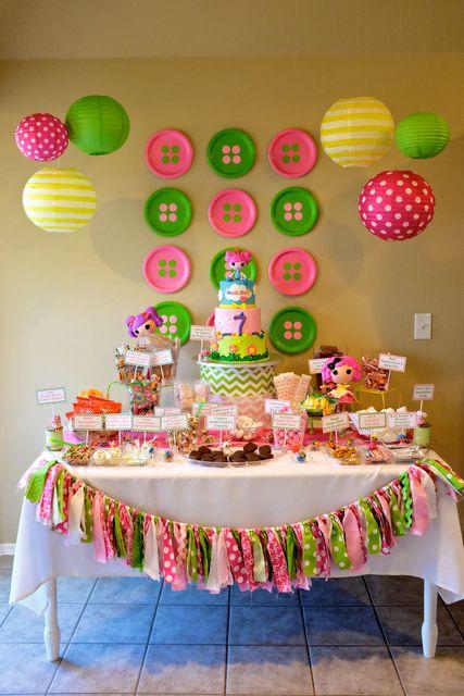 Temas de fiestas infantiles para ni as 6 decoracion de for Decoracion para fiesta de cumpleanos de nina