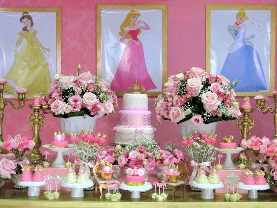 Temas para cumpleaños deLas princesa Disney