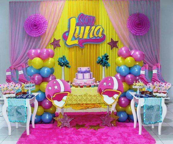 Temas de Fiesta infantil para niña de Soy Luna