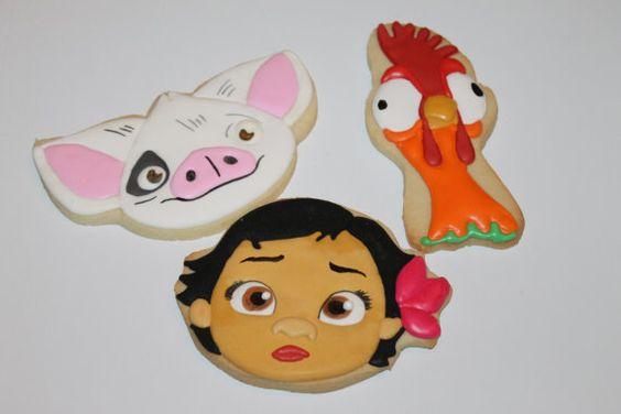 galletas personalizadas de moana