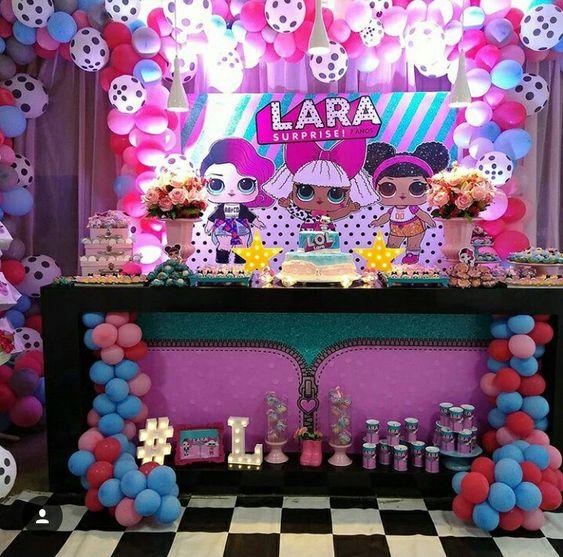 Temas de fiestas para niñas deLOL Surprise