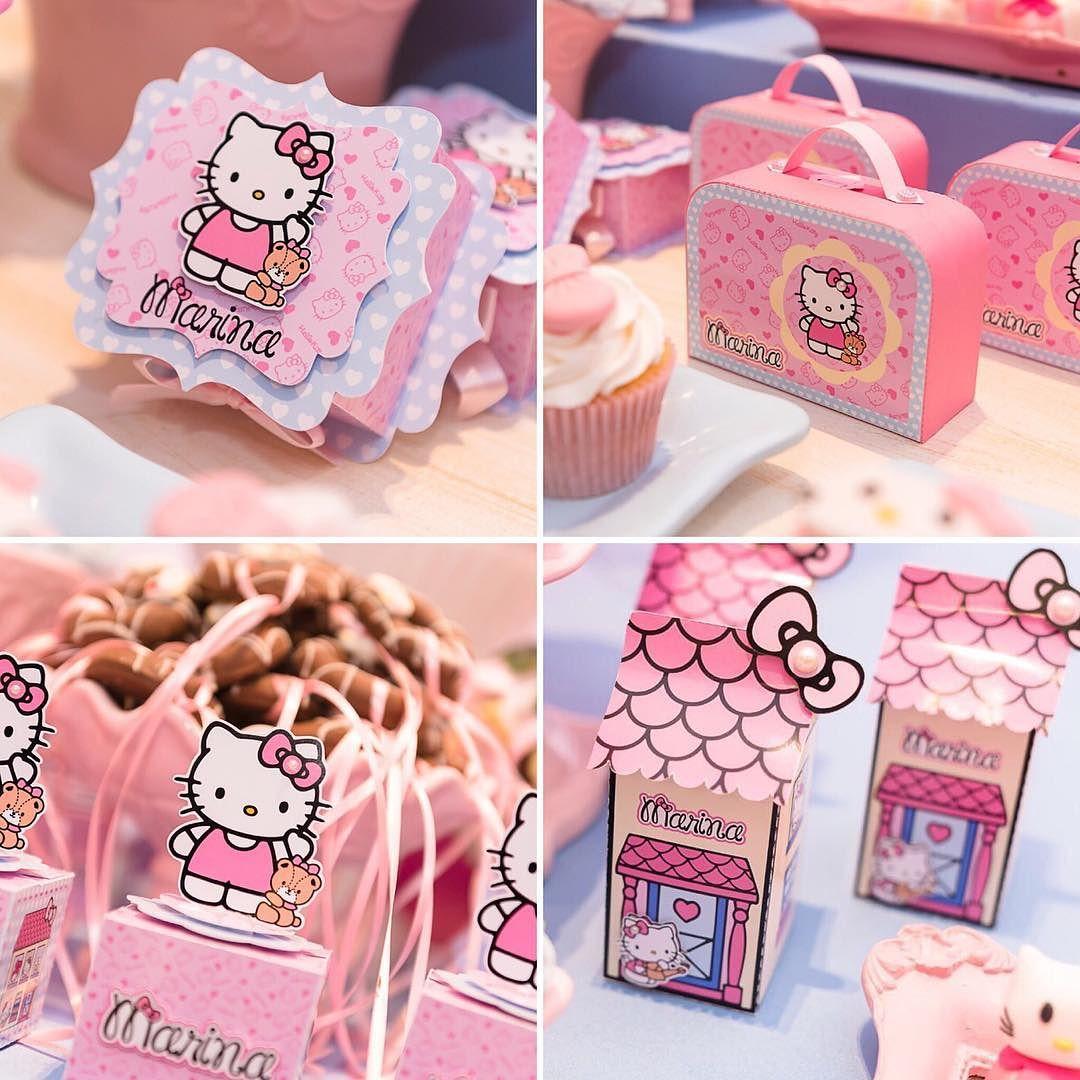 Fiesta Infantil Con Tema De Hello Kitty