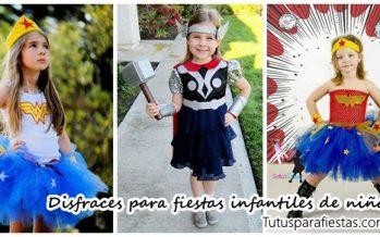 50 disfraces infantiles para fiesta de niña