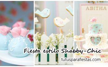Decoración de Fiestas estilo Shabby-Chic