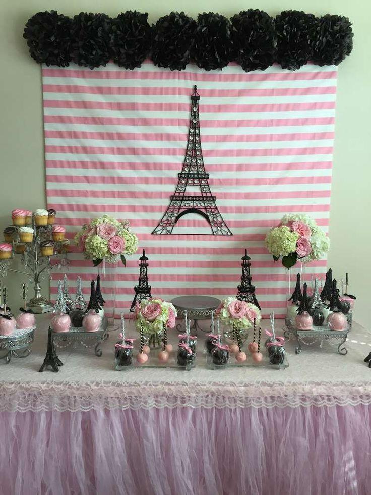 decoracion de fiesta al estilo paris 1 decoracion de