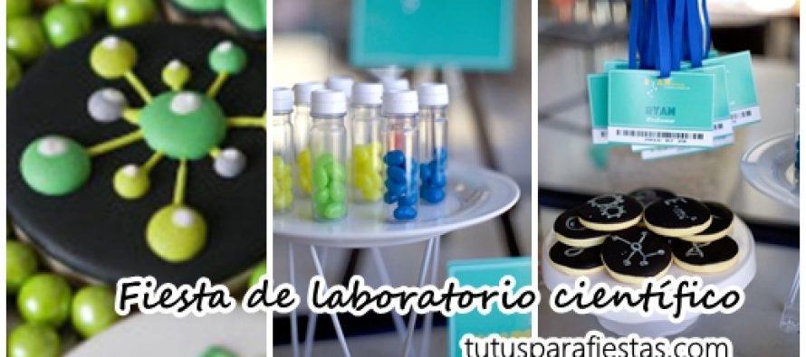 Fiesta con tema de Laboratorio científico