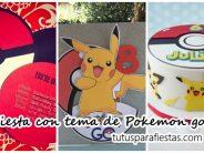 Fiesta de cumpleaños con tema de Pokemon go