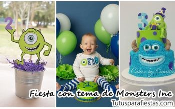 Fiesta infantil de monsters inc