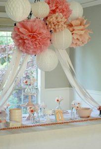 mesas de postres para baby shower
