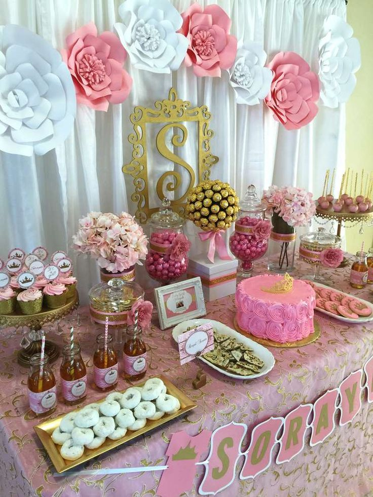 Tendencias En Decoracion De Mesas Postres Para Baby Shower