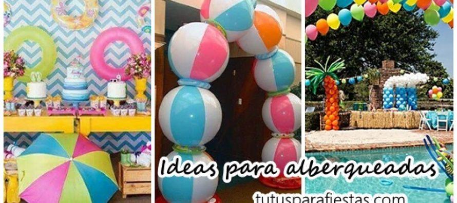 Ideas para alberqueada como fiesta infantil