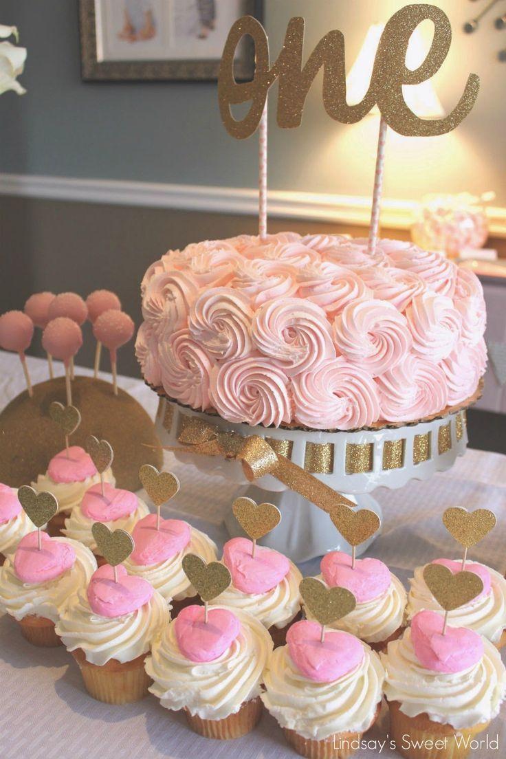 Ideas para celebrar el cumplea os 1 para ni as 41 for Decoracion para fiesta de cumpleanos de nina