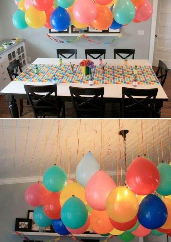 Ideas para celebrar el cumplea os 1 para ni as 43 decoracion de fiestas cumplea os bodas - Ideas para celebrar cumpleanos adultos ...