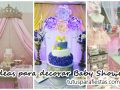 Ideas para decorar Baby Shower de niña
