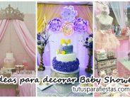 Ideas para decorar Baby Shower de niña