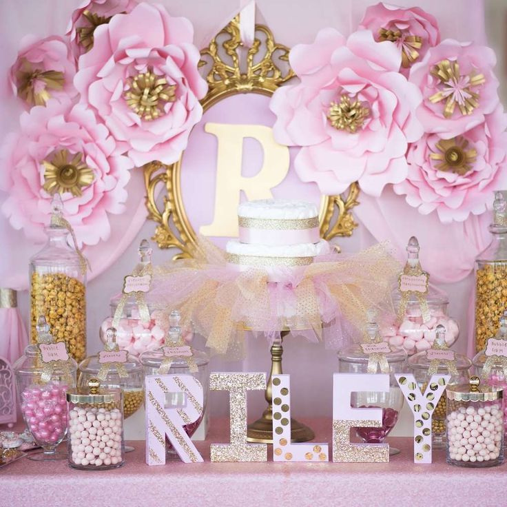 Ideas para decorar baby shower de ni as 8 decoracion for Decoracion para pared de baby shower