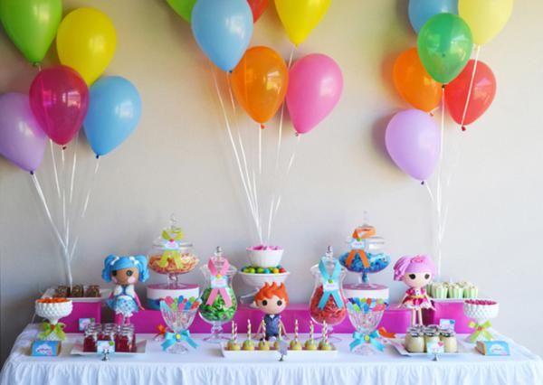 Ideas Para Decorar Mesas De Postres En Fiestas Infantiles 17 - Decoracion-mesas-fiestas