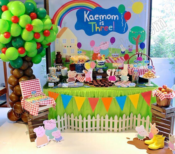 Ideas para decorar mesas de postres en fiestas infantiles - Decorar mesas para eventos ...