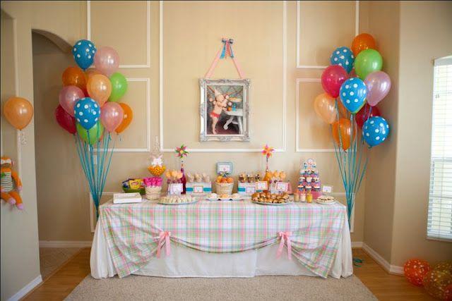Ideas Para Decorar Mesas De Postres En Fiestas Infantiles 25 - Decoracion-mesas-fiestas