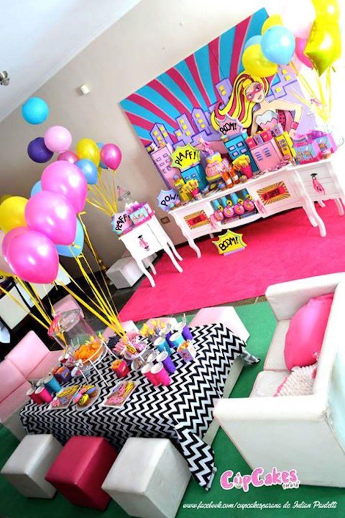 Ideas para decorar mesas de postres en fiestas infantiles for Ideas decoracion cumpleanos infantil