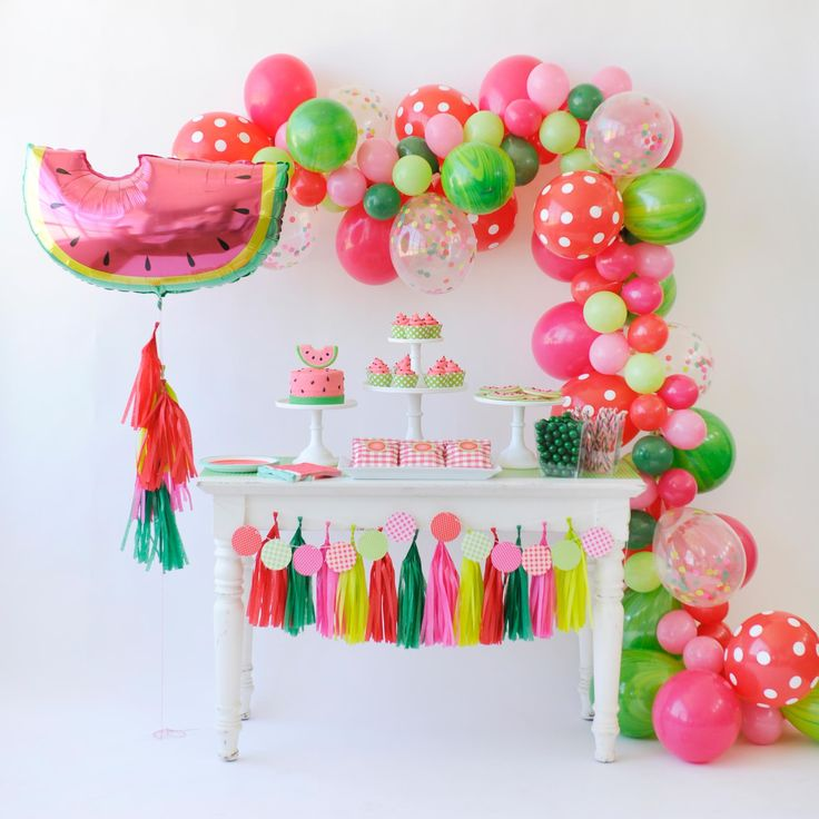 Ideas para decorar mesas de postres en fiestas infantiles for Decoracion postres