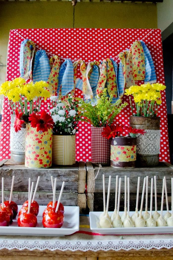 Ideas para decorar mesas de postres en fiestas infantiles for Ideas decoracion fiesta