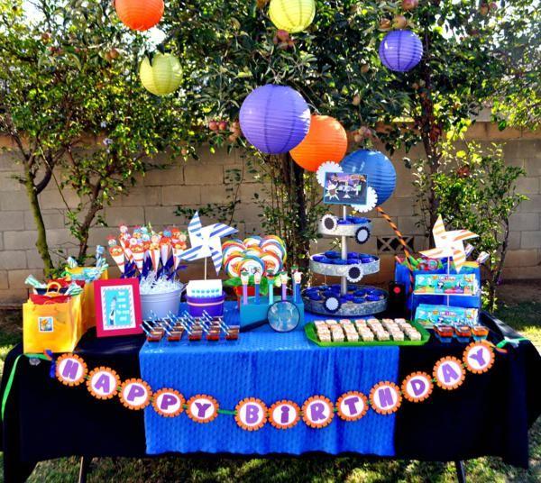 Ideas para decorar mesas de postres en fiestas infantiles - Que se necesita para una fiesta infantil ...