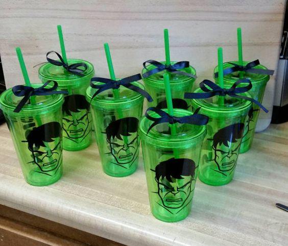 Ideas para fiesta de cumplea os con tema de hulk 18 - Decoracion fiesta 18 cumpleanos ...