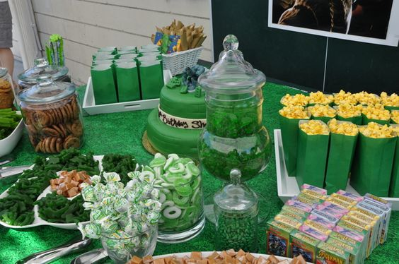 Ideas para fiesta de cumplea os con tema de hulk 6 decoracion de fiestas cumplea os bodas - Comidas para cumpleanos en casa ...