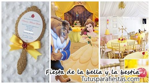 Ideas Para Fiesta De La Bella Y La Bestia