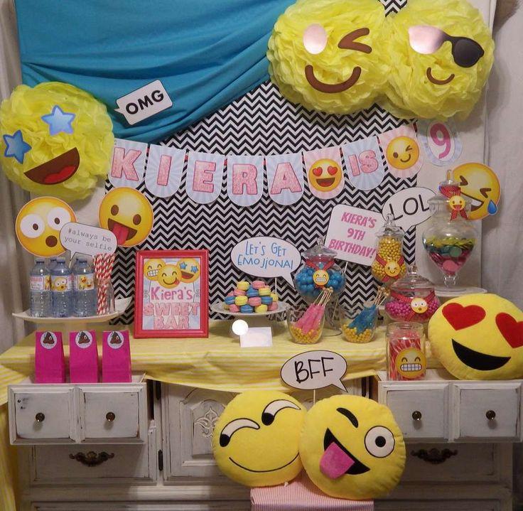 Ideas para fiestas de emoji 34 decoracion de fiestas - Todo casa decoracion ...