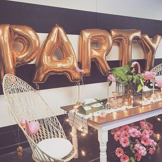 Our Favorite Pinterest Profiles For Decorating Ideas: Ideas Para Fiestas De Cumpleaños De 18 Años (21)