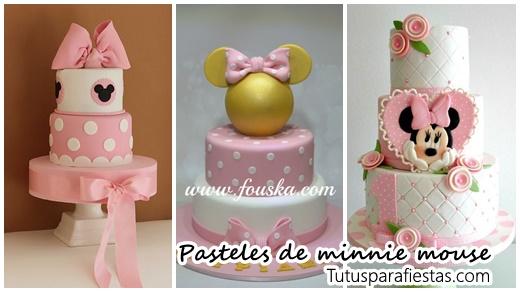 Pasteles Para Fiesta Infantil De Minnie Mouse