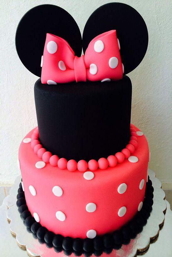 Pasteles Para Fiesta Infantil De Minnie Mouse 5