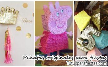 Piñatas super originales para fiestas infantiles