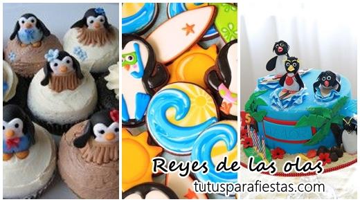 Fiesta De Los Reyes De Las Olas Los Pingüinos De Madagascar