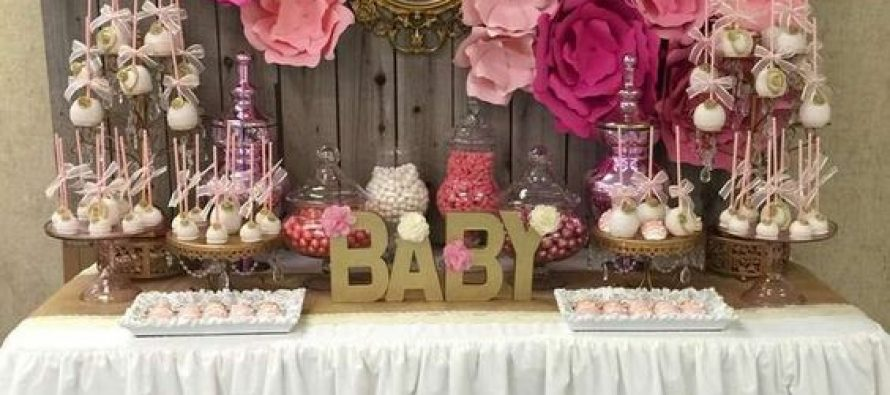Tendencias en decoracion de mesas de postres para baby shower for Mesa de dulces para baby shower nino