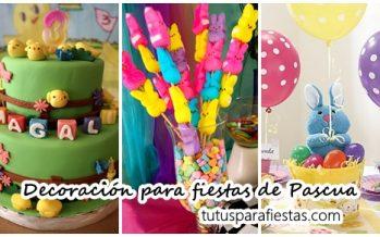 Las mejores ideas de decoración para fiestas de Pascua