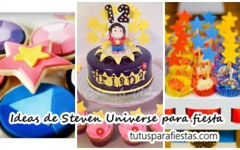Ideas de Steven Universe para decorar una fiesta