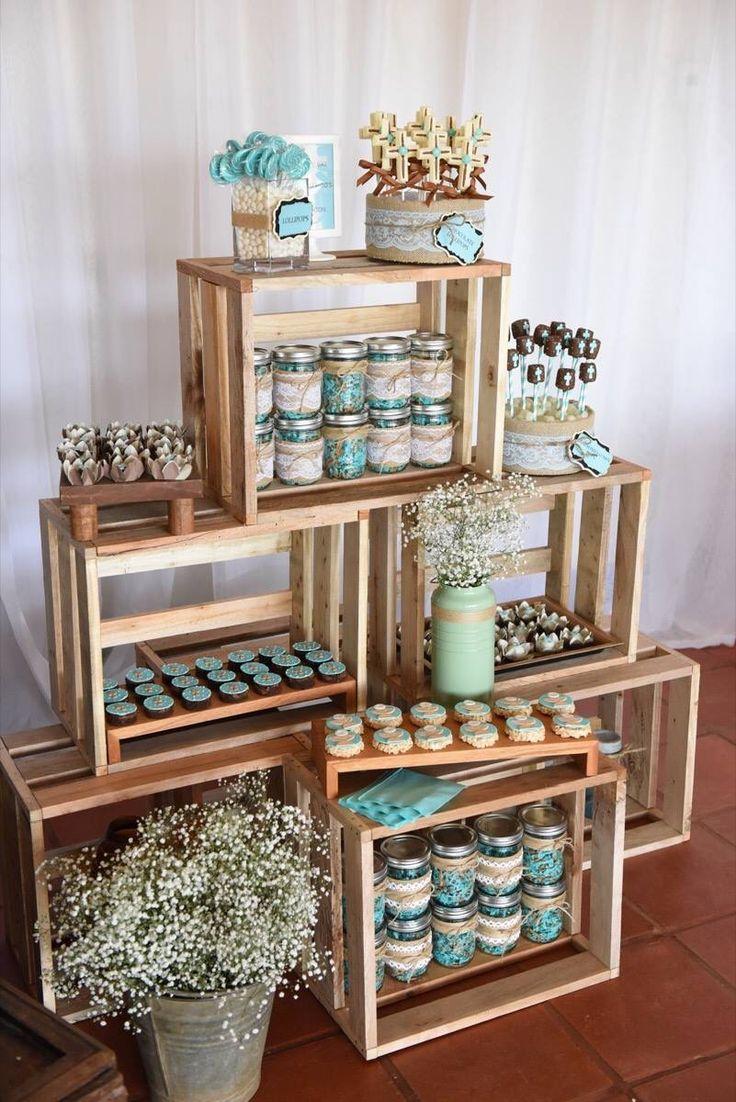 Ideas de decoracion de centros de mesa para fiestas 10 for Decoracion bautizo nina jardin