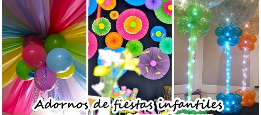 Adornos de fiestas infantiles for Paginas de ideas de decoracion