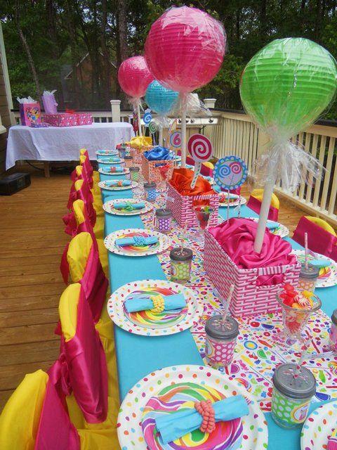 Como organizar un cumpleanos en casa 24 decoracion de - Menu para fiesta de cumpleanos en casa ...