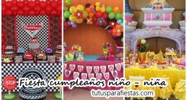 Fiesta cumpleaños niño – niña
