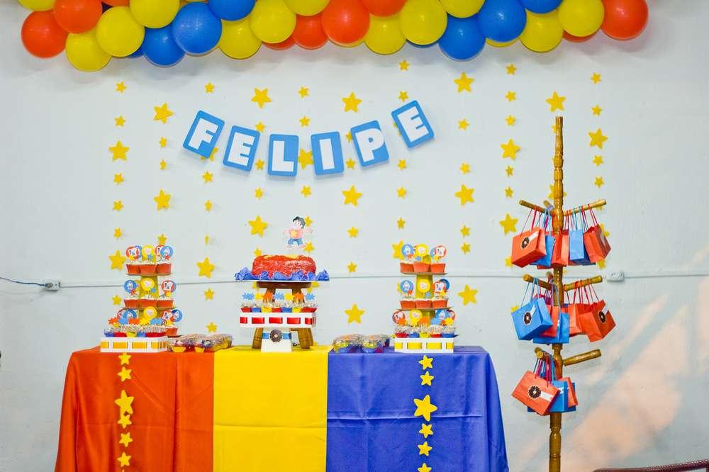 Fiesta cumpleanos nino nina 5 decoracion de fiestas for Decoracion para fiesta de cumpleanos de nina