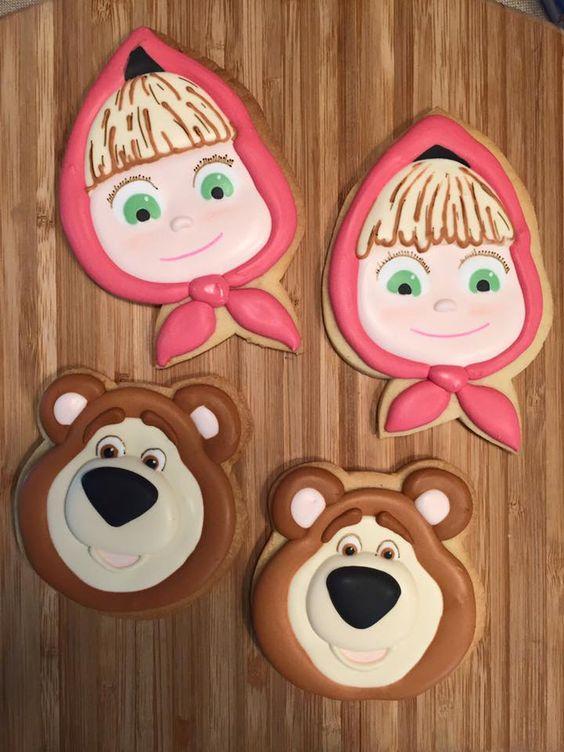 fiesta de Masha y el oso