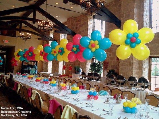 Como decorar una fiesta infantil 5 decoracion de - Como adornar una fiesta de cumpleanos ...