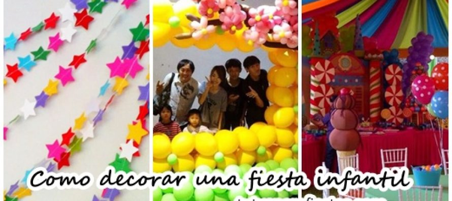 como decorar una fiesta infantil with como decorar infantiles