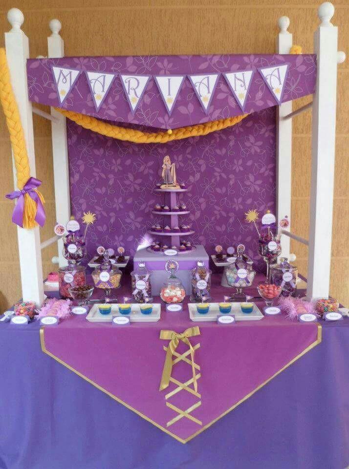 Temas de cumpleaños para niñas deRapunzel o Enredados